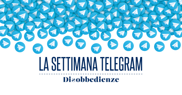 La settimana Telegram (Aprile 2020)