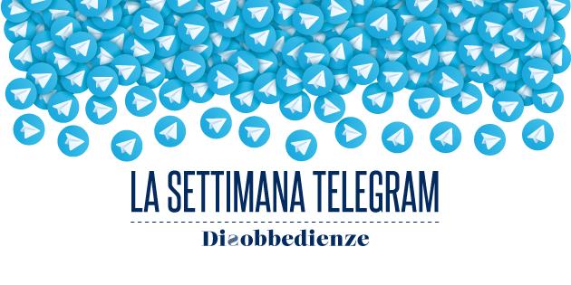 La settimana Telegram (10-17 maggio 2020)